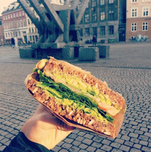 Sandwich from Smag in Copenhagen